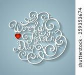 vector world healh day... | Shutterstock .eps vector #259353674