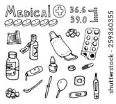 vector illustration medical... | Shutterstock .eps vector #259360355