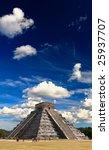 the temples of chichen itza...   Shutterstock . vector #25937707