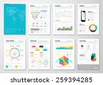 modern infographic vector... | Shutterstock .eps vector #259394285