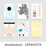 infographic vector illustration ... | Shutterstock .eps vector #259441574