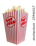 hot  buttered  theater popcorn... | Shutterstock . vector #25946317