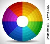 circular color wheel   color...
