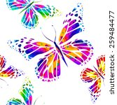 rainbow watercolor background...
