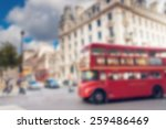 double decker red bus in london ... | Shutterstock . vector #259486469