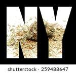 new york  marijuana weed pot... | Shutterstock . vector #259488647