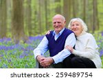mature family  healthy caring... | Shutterstock . vector #259489754