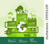 green planet concept   Shutterstock .eps vector #259531139