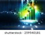business graph | Shutterstock . vector #259540181