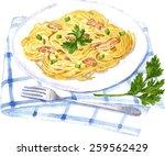 vector illustration of... | Shutterstock .eps vector #259562429