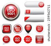 iso 9001 | Shutterstock . vector #259562711