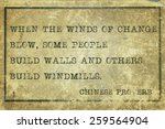 When The Winds Of Change Blow ...