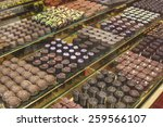 Chocolate Candy In A Store...