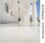 typical greek church. greece ... | Shutterstock . vector #259566155