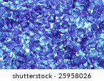recycled blue glass pellets... | Shutterstock . vector #25958026