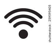 wifi icon.    Shutterstock .eps vector #259595405