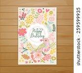 Sweet Happy Birthday Card In...