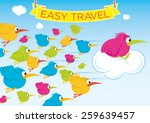 easy travel | Shutterstock .eps vector #259639457