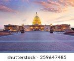 capitol building washington dc... | Shutterstock . vector #259647485