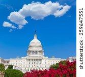 capitol building washington dc... | Shutterstock . vector #259647551
