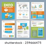 big set of infographics...   Shutterstock .eps vector #259666475
