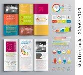 creative brochure template... | Shutterstock .eps vector #259677101