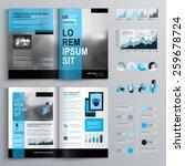 classic brochure template...   Shutterstock .eps vector #259678724