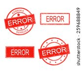 set of rubber stamp with word...   Shutterstock .eps vector #259688849