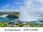 View Of Niagara Falls In A...