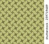green seamless pattern swirl... | Shutterstock .eps vector #259719689