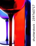 abstract wine glassware design | Shutterstock . vector #259760717