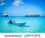 half moon cay  bahamas   march... | Shutterstock . vector #259771979
