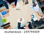 diversity business team... | Shutterstock . vector #259794509