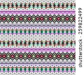 colorful ethnic background | Shutterstock . vector #259822499