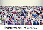 large group of diverse... | Shutterstock . vector #259840967