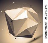 modern geometric technology... | Shutterstock .eps vector #259848191