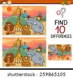 cartoon vector illustration of...   Shutterstock .eps vector #259865105