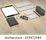 template business for branding. ... | Shutterstock . vector #259872989