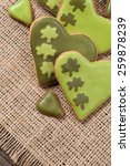 Patricks Day Green Cookies Wit...