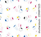 seamless geometric shapes... | Shutterstock .eps vector #259897325