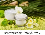 skin  product  care. | Shutterstock . vector #259907957