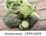 healthy smoothie | Shutterstock . vector #259913459
