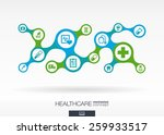 healthcare. growth abstract... | Shutterstock .eps vector #259933517