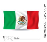 flag of mexico   vector... | Shutterstock .eps vector #259977059