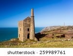 wheal owles mine on the cliffs...