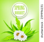 Spring Background Floral Bouquet