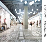 interior of a shopping mall | Shutterstock . vector #26001034