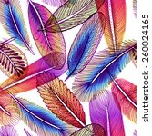seamless pattern with abstract...   Shutterstock .eps vector #260024165