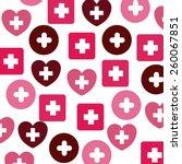 medical design  vector... | Shutterstock .eps vector #260067851