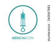 medical design  vector... | Shutterstock .eps vector #260067881